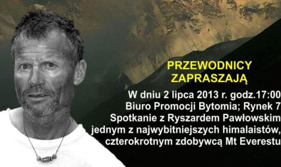 Spotkanie z Ryszardem Pawłowskim w Bytomiu