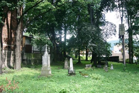 Stary cmentarz w Szczawnicy