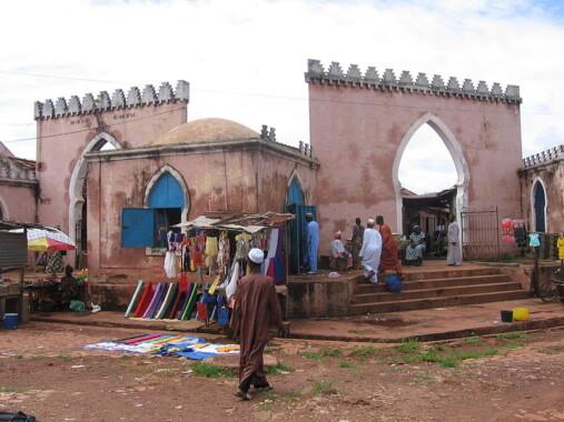 Stary Rynek w Bafatá, Gwinea Bissau