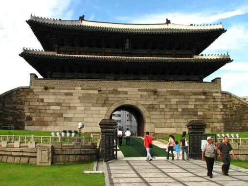Brama Sungnyemun w Seulu