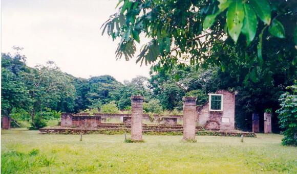 Pozostałości po synagodze w Jodensavanne