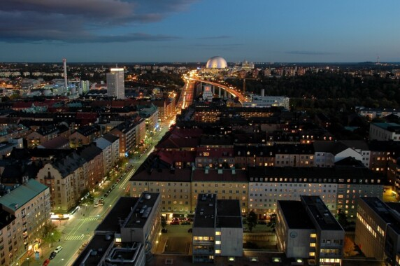 Sztokholm nocą