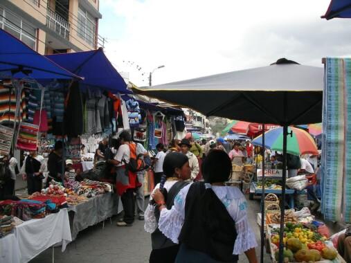 Targ w Otavalo