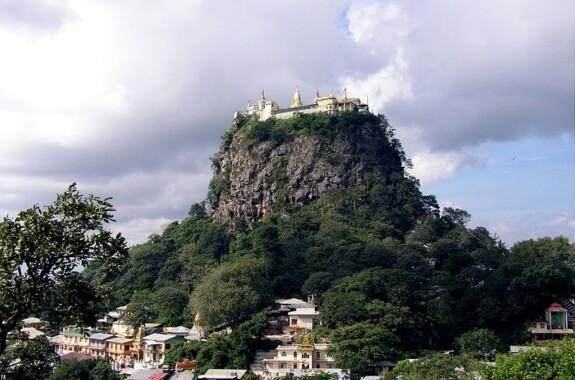 Klasztor Taung Kalat