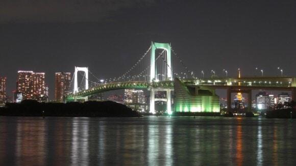 Tęczowy most w Tokio