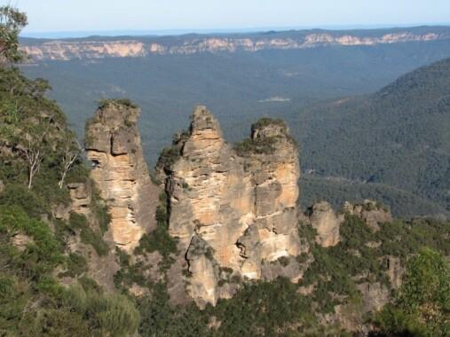 Trzy siostry – Australia