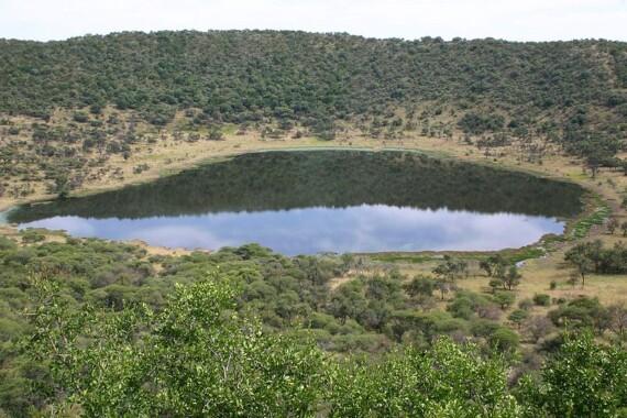Krater Tswaing w RPA