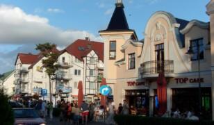 Ulica Grunwaldzka w Pobierowie