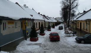 Ulica Kazimierza Wielkiego w Starym Sączu