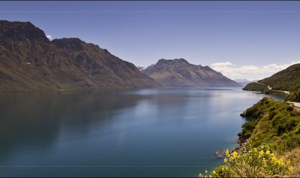 Jezioro Wakatipu (Alpy Południowe, Nowa Zelandia)