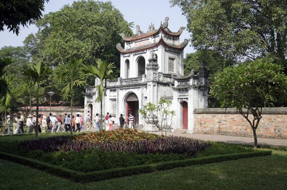 Wejście do Świątyni Literatury