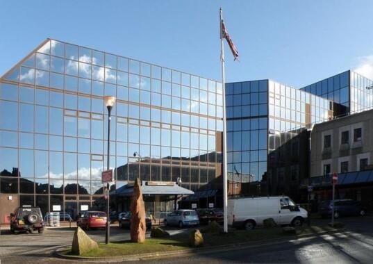 Wejście główne do Manchester Royal Infirmary
