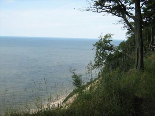 Widok ze wzgórza Gosań