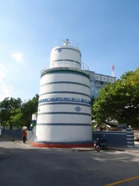 Wieża Meczetu Piątkowego w Male