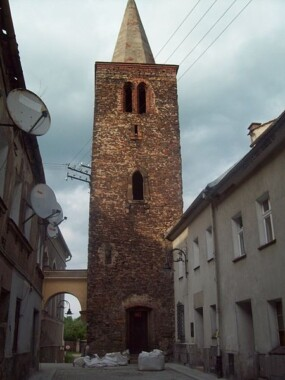 Wieża rycerska w Bystrzycy Kłodzkiej