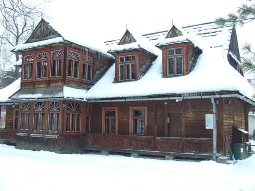 Willa Atma w której mieści się Muzeum Karola Szymanowskiego