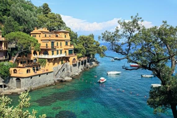 Willa w okolicach miasteczka Portofino we Włoszech