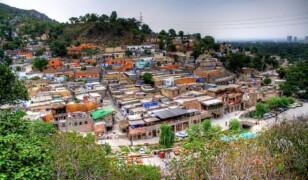 Wioska Saidpur w górach Margalla, Pakistan