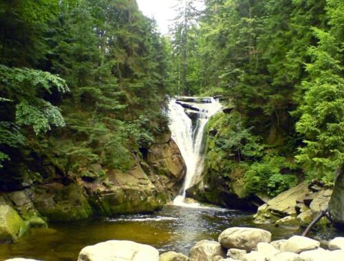 Wodospad Szklarki – Karkonoski Park Narodowy