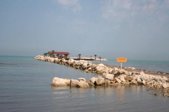 Wybrzeże w Albanii