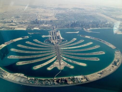Wyspy Palmowe w Dubaju.