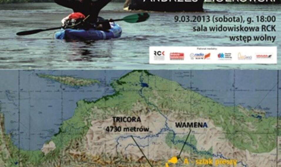 Papua Zachodnia i Nowa Gwinea – spotkanie z Andrzejem Ziółkowskim