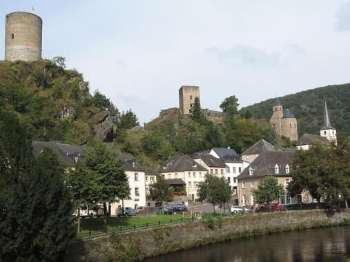Zamek w Esch-sur-Sûre
