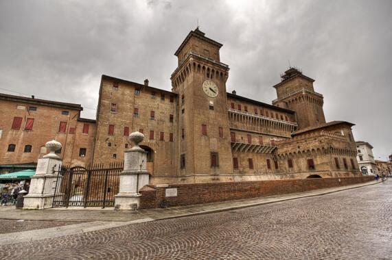 Zamek Estense w Ferrara