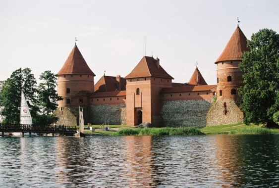 Zamek na wodzie w Trokach