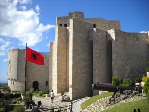 Zamek w Skanderbega w Kruji