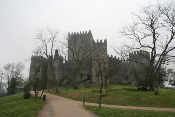 Zamek w Guimarães