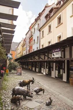Jatki – zespół kramów mięsnych na ulicy Malarskiej we Wrocławiu