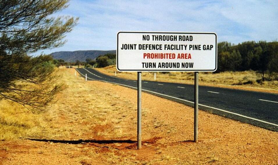 Pine Gap – lokalizacja: Australia